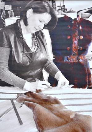 Création de fourrure sur mesure dans un atelier près de Paris 5e